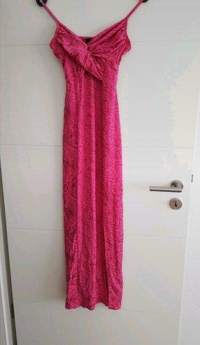 Langes Kleid in pink von Style