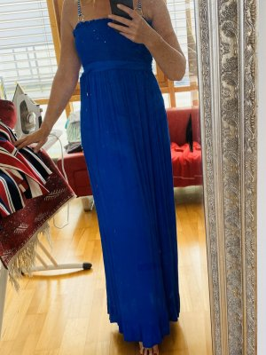 Juicy Couture Vestido bandeau azul