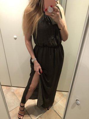 Langes Kleid Khaki ZARA L