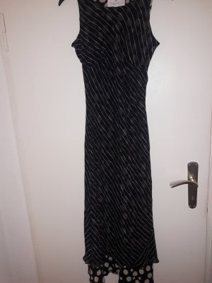 Langes Kleid Maxikleid gestreift / gepunktet / Dots