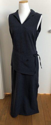 Melrose Robe à capuche gris ardoise