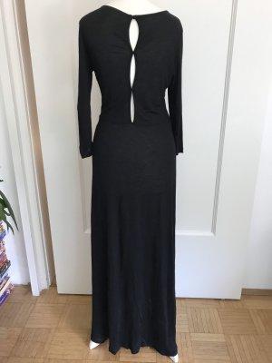 Langes Kleid mit raffiniertem Rückenausschnitt