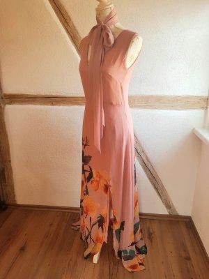 langes Kleid rosa