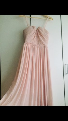 Langes Kleid rosé