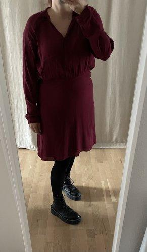 Second Female Longsleeve Dress bordeaux