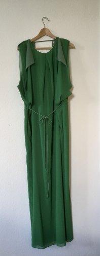 Acne Sukienka maxi zielony-miętowy Poliester