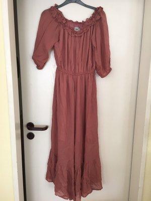 Asos Maxi Dress rose-gold-coloured