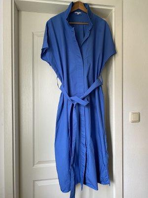 COS Vestido de manga corta azul