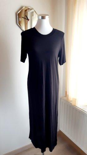 langes Kleid von H&M schwarz Midikleid