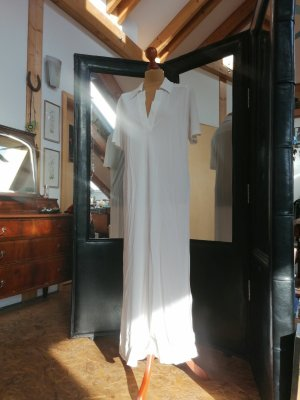 Iceberg Maxi abito bianco Acrilico
