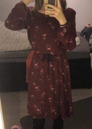 Langes Kleid von JustFab rot