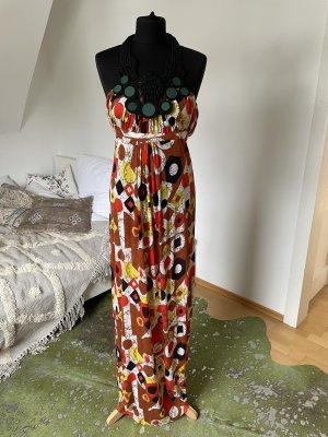 T-Bags Maxi abito multicolore