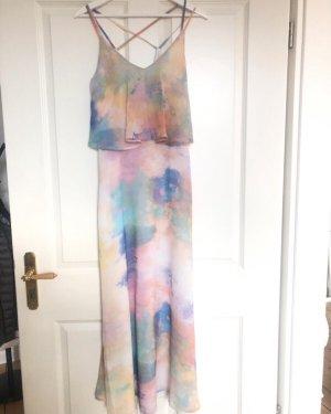 Debby Debo Pinafore dress natural white