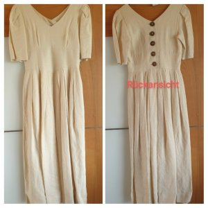 Mothwurf Maxi Dress natural white hemp