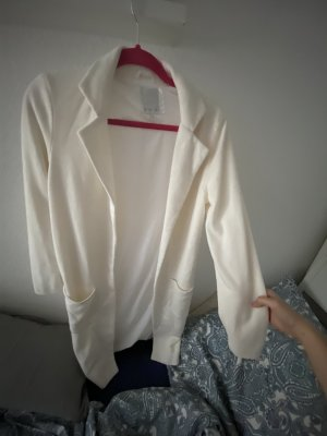 Amisu Veste longue blanc cassé