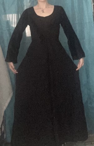 Bäres Sukienka maxi czarny