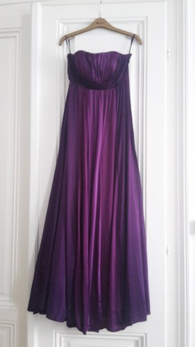 Monsoon Vestido de baile lila Seda