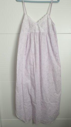 Camicia da notte malva Tessuto misto