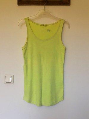 H&M Tank Top yellow-neon yellow