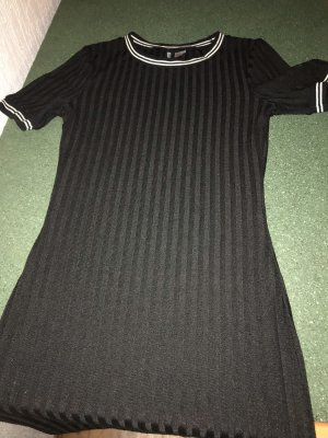 H&M Top lungo nero-bianco