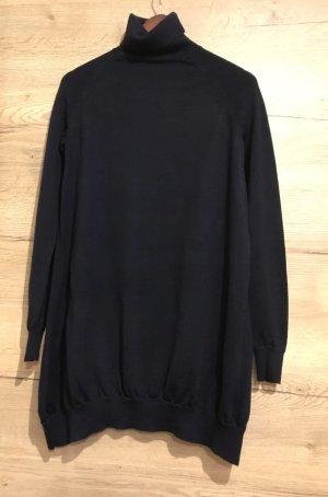 Langes Pullover- Kleid S-M