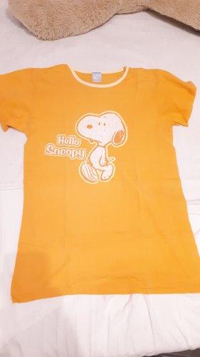 Peanuts Pyjama geel-licht Oranje