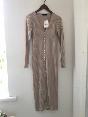 Bershka Robe à manches longues crème