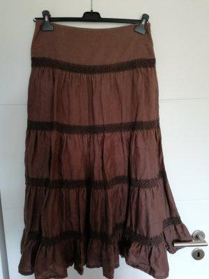 Blanco Maxi Skirt brown
