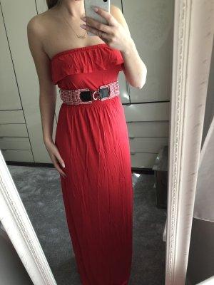 Koton Maxi Dress red