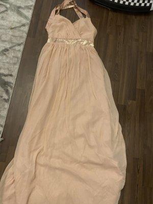 Halter Dress dusky pink