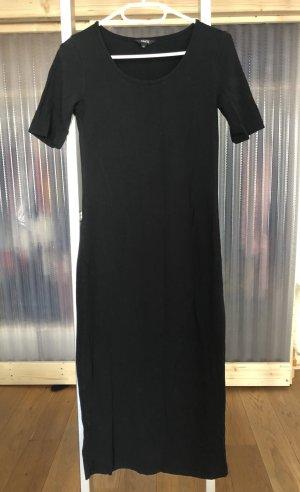 Langes schlichtes Kleid auch für S Trägerin