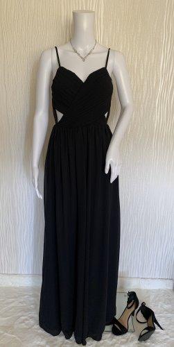 Langes schwarzes Abendkleid von Miss Parisienne