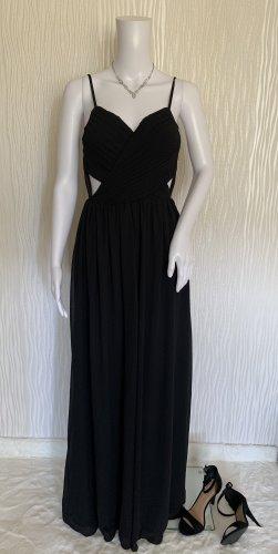 Langes schwarzes Abendkleid von Miss Parisienne Gr. 36 NEU