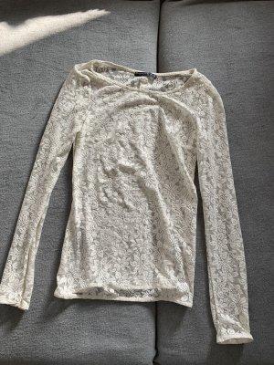 Camicia lunga bianco sporco