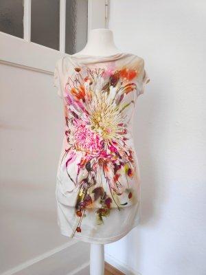 Apanage Camisa con cuello caído multicolor