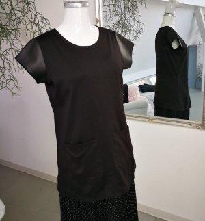 langes Shirt-kurzes Kleid