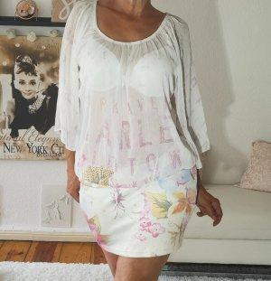 MIssy Camicia lunga multicolore