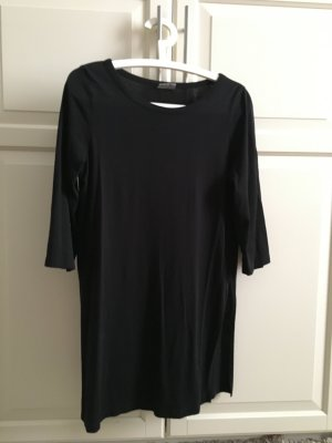 langes Shirt mit 3/4 Ärmeln und Schlitzen an den Seiten