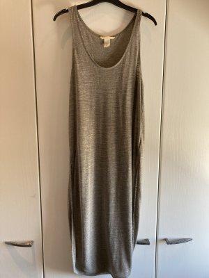 H&M Lange top grijs