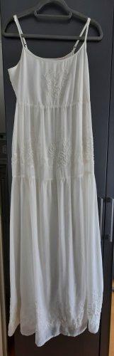 Bershka Vestito da spiaggia bianco
