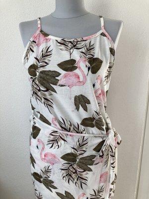 Langes Sommerkleid Gr. 36/38 Prodotto Italy Wickelkleid neuwertig