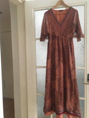 Langes Sommerkleid - Massimo Dutti