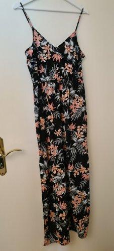 Langes Sommerkleid mit Blumenmuster KLEINGRÖSSE