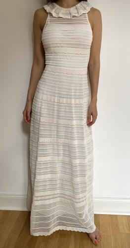 Missoni Sukienka z krótkim rękawem biały