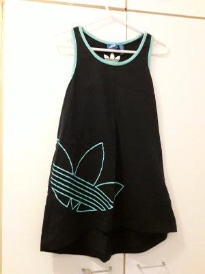 Adidas Top sportowy ciemnoniebieski-turkusowy