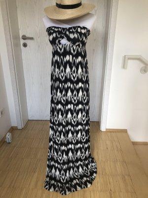 Calzedonia Cut out jurk zwart-wit