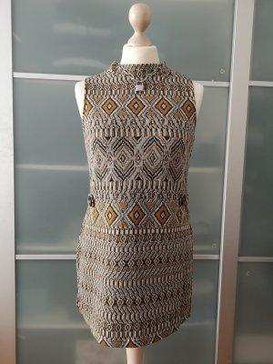 Romeo & Juliet Couture Top lavorato a maglia grigio