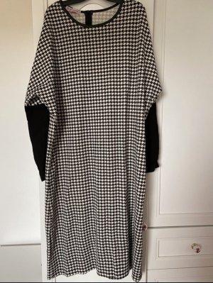 Robe Sweat noir-blanc