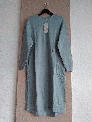 langes Sweatshirt-Kleid aus 100% Baumwolle, Grösse S oversize, neu