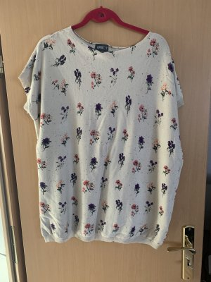 Langes T- Shirt mit floralen Motiv
